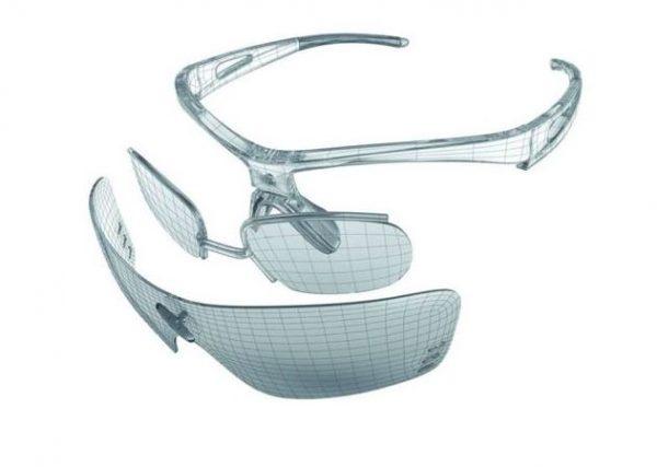 Trailrunning sportbril inzetclip Sziols
