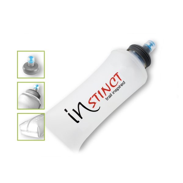 Trailrunning voedingsfles Instinct Hydra Cell Soft Flask 600 ml