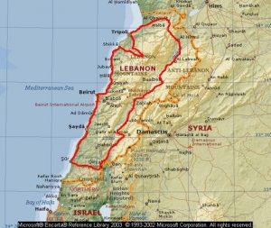 Libanon reis