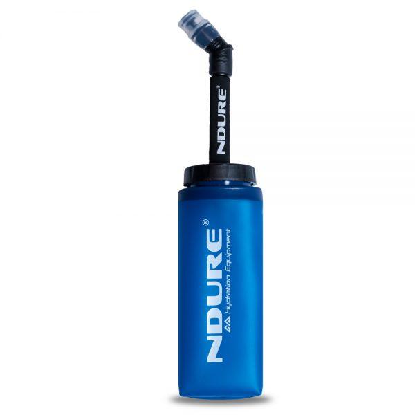 Trailrunning Voedingsfles NDURE Soft Flask XL 350ml met drinktuit
